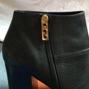 Cole Haan Shoes - Cole Haan Open Toe Block Heel Boots - Sz 8
